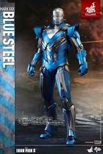 Hot Toys MMS391 Iron Man 3 Blue Steel Mark 30 XXX 1/6 Collectible Figure 30cm