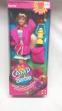 1993 MATTEL CAMP BARBIE Blonde BARBIE, NIB, MINT,#11074. **VERY RARE!**