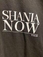 Shania Twain: NOW Local Crew T Shirt Sz XL