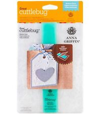 "Cricut Cuttlebug Anna Griffin  MODERN VINES 5"" X 7"" embossing folder with border"