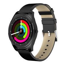 Bluetooth LCD Siri Smart Watch Heart Rate Sleep Monitor Pedometer Android&IOS US