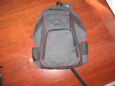 82451685b3c199 Nike Air Jordan Jumpman 23 Logo Backpack Laptop 9a1223 023 Black Red