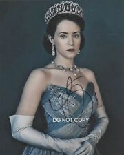"""Claire Foy in The Crown Netflix 8x10"""" Photo Reprint Autographed #2 RP Queen"""