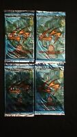 1998 Inkworks Lost In Space The Movie Trading Card Unopened 4 Pack Lot