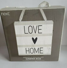 Hanging Lit Personalised Cinema Box