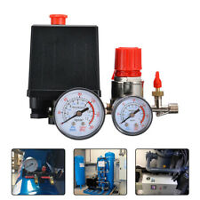 Air Compressor Pressure Switch Control Relief Valve Manifold Regulator Gauges