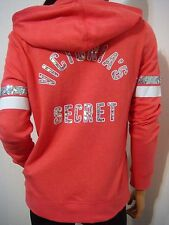 VICTORIA'S SECRET FASHION SHOW NYC EXCLUSIVE BLING SEQUINS HOODIE JACKET Sm