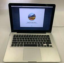 New listing Apple MacBookPro8,1 Mc724Ll/A I7-2620M 2.7Ghz 4Gb 13.3 Cracked Screen