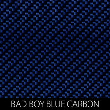 Bad Boy Blue Carbon Fiber Hydrographic Film dip stick hydro car show motorcycle