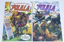 LA POLILLA STEVE RUDE Nº 1 Y 2 COLECCIÓN COMPLETA AZAKE EDICIONES  2006 ESPAÑOL