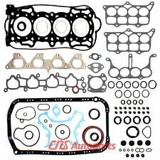 "Fits 90-96 Honda Accord Prelude S Engine Full Gasket Set 2.2L SOHC 16V ""F22A"""