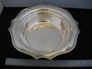 """1 LB Bailey Banks & Biddle Philadelphia 539 N.S. 10"""" Silver Bowl Dish FREE SHIP!"""