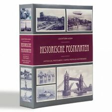 Leuchtturm Album für 200 historische Postkarten, mit 50 Klarsichthüllen (348002)