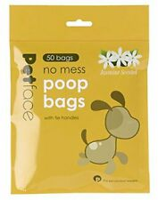 Petface Jasmine Scented Dog Poop Bags (Pack of 50 bags)