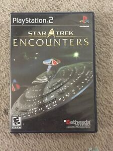 SONY PLAYSTATION 2- PS2- STAR TREK ENCOUNTERS- COMPLETE- 2006