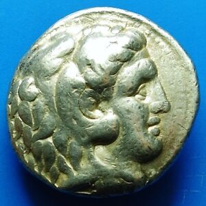 KINGS OF MACEDON, SELEUKOS I AR TETRADRACHM BABYLON MINT (106V)