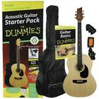 Learn to Play Kona Acoustic Guitar Starter Pack For Dummies Set for sale