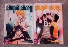 Lot de 2 mangas Stupid Story tomes 1 et 2