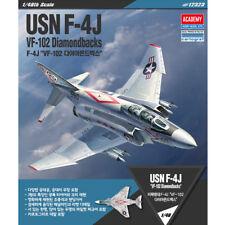 ACADEMY #12323 1/48 Plastic Pramodel Kit USN F-4J VF-102 Diamondbacks