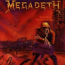 Megadeth CD Peace Sells But Who's Buying ORIGINAL 1986 CDP 7 46370 2 FIRST PRESS