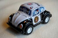 """New VINTAGE Sanko Metal Tin Toy Friction Volkswagen Police Car Made in Japan 3"""""""