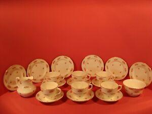 GEORGE JONES SWANSEA BONE CHINA, 20 PIECE TEA SET