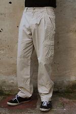 MURPHY NYE CARGO LIGHT BROWN DENIM JEANS 80s COMFORT FIT STRAIGHT LEG W31 LOOK!!