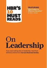 HBR's 10 Must-Reads On Leadership by Harvard Business Review Press (2011, Pap...