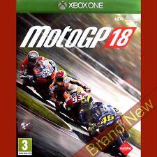 MotoGP 18-Xbox importación Juego en ~ ONE inglés-Nuevo y Sellado