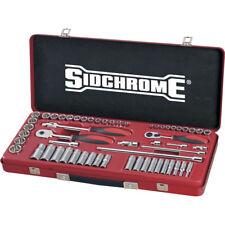"Sidchrome 57pce Combo Socket Set 1/4 & 3/8"" - Metric - SCMT19230"