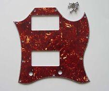 SG Standard Full Face Guitar Pickguard Scratch Plate Vintage Tortoise w/ Screws