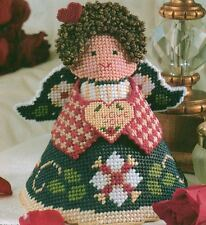 HOLIDAY ANGEL CHRISTMAS PLASTIC CANVAS PATTERN INSTRUCTIONS