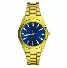 DOOKA  Men's Analog Casual Gold Wrist Watch SCYW-2400 (Blue)