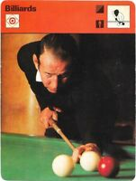 1977 Sportscaster Card Billiards # 08-18 NRMINT.