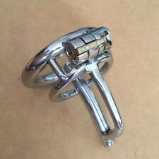 Bondage Male Chastity Belt Chastity Device Short Cage  CBT Urethral Tube zc076