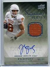 2010 Upper Deck Exquisite Jordan Shipley Signature Jersey 99/99 (Box DP)