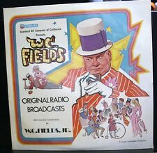 NEW SEALED VINYL RECORD ALBUM W.C. FIELDS ORIGINAL RADIO BROADCASTS STANDARD OIL