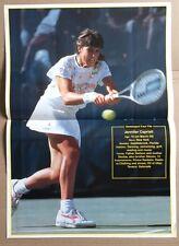 JENNIFER CAPRIATI Original Vintage Tennis World Magazine Poster