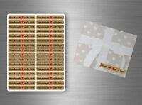 Lot 128 Autocollant sticker scrapbooking DIY handmade with love emballage R5