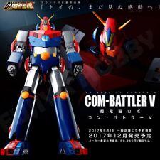 超力電磁俠Bandai DX Soul of Chogokin Chodenji Robo Combattler V Com-Battler V