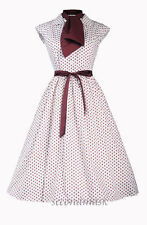 Polka Dot Ball Gown Plus Size Dresses for Women