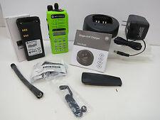 Motorola HT1250 II radio in a III housing VHF Full Keypad 136-174 *Green LOADED