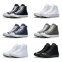 New Converse Chuck Taylor All Star High Top Sneakers Original Canvas Shoes Men