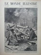 LE MONDE ILLUSTRE 1905 N 2504  GUERRE RUSSO JAPONAISE LA BATAILLE DE SAN-DE-POU