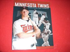 2008 MINNESOTA TWINS YEARBOOK NEVER USED