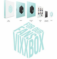 VIXX BOX For Our Fans DVD +Scheduler +17 PhotoCards + 7 CollectionCards+8Buttons