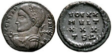CONSTANTINE (320 AD) Exceptionally Rare Follis. Thessalonica #KA 8865