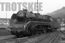 More details for 35mm negative db west germany railways steam loco 10 002 kassel 1963 deutsche