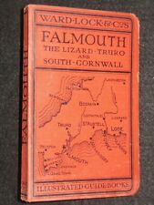 FALMOUTH; Vintage English/Cornish Tour Guide (1940) Truro, Southern Cornwall etc