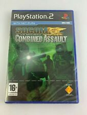 PS2 SOCOM US Navy Seals Combined Assault, Brand New & Factory Sealed